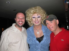 Wilson Hardcastle and Ian Hall with Pollo Del Mar