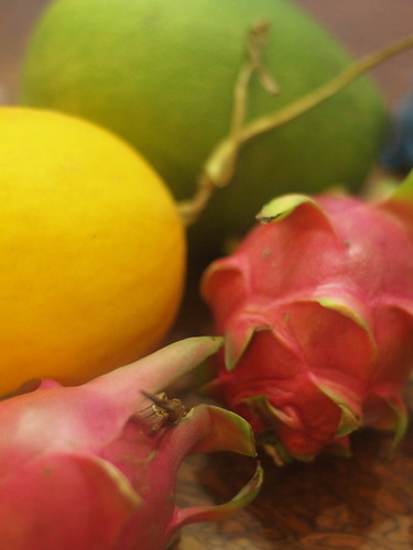 Dragon Fruit and other Vietnamese Fruites