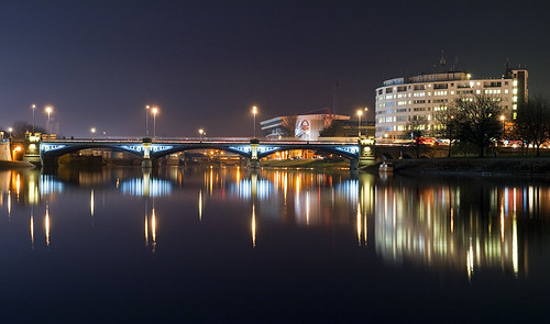 Trent Bridge at Night