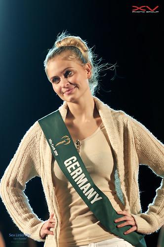 miss GERMANY (đêm tập dợt)