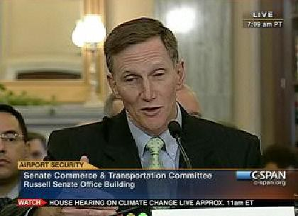 Head of TSA, John Pistole, goes before a Senate Committee to discuss new changes to airport security, asserts that he will listen to concerns but nothing will likely change., From ImagesAttr