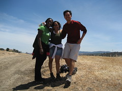 Bola, Bern and Rey hiking at lack Diamond Mines Part 2