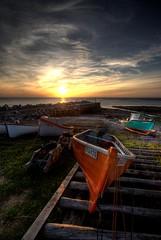 (iJohn) Tags: ocean sunset sea boats boat novascotia tide wharf bayoffundy fishingboats soe peopleschoice outstandingshots abigfave impressedbeauty
