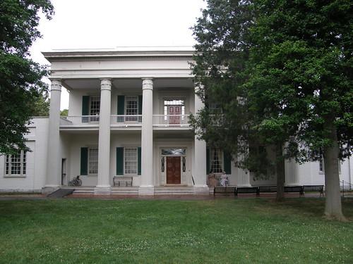 Andrew Jackson's Home mansión sureña americana