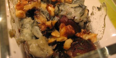 Champignon gorgonzola