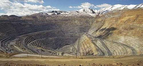 The Kennicott Copper Mine in Utah
