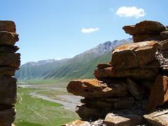 Truso Gorge (onbangladesh) Tags: mountains georgia rocks gorge kazbegi truso khevi