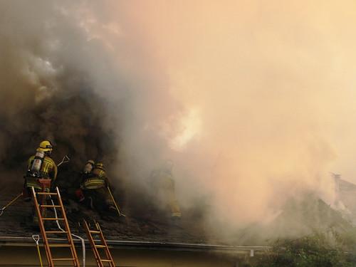 big fire in my neighborhood