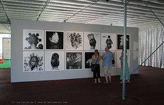 documenta 12 | J.D.'Okhai Ojeikere / Hairstyles & Headgear Series | Aue-Pavillon