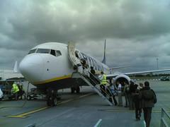 Ryanair en Stansted (by jmerelo)