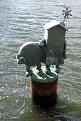 NYC - Roosevelt Island: Tom Otterness' Marriag...