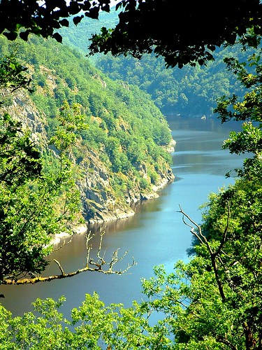 Gorges de la Dordogne River France