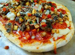 Pepperoni Primavera Pizza