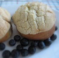 Conchas with Blueberries