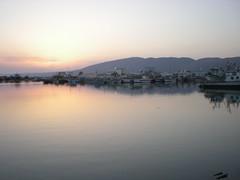 Nouveau port, coucher de soleil