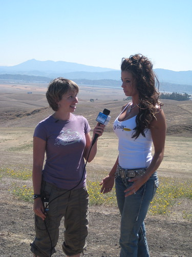 Amy Mac Interviewing Candice Michelle, the GoDaddy Girl