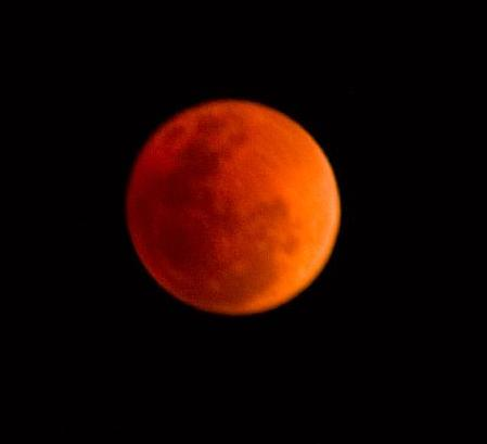 Lunar eclipse full