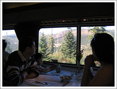 Dining along the American River Canyon