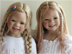 Himstedts blonde (MiriamBJDolls) Tags: doll tetti group himstedt lillemore