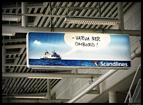 varva ner ombord!