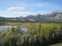The scenery in the Jasper, Alberta area (jimbob_malone) Tags: alberta 2007 highway16 greyhoundbus