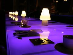 Kawiarnia (magro_kr) Tags: italy lamp table torino cafe italia violet piemonte lampa turin piedmont stol piemont kawa włochy wlochy kawiarnia turyn stół fiolet
