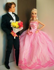 Rapid  Heartbeat (napudollworld) Tags: fashion night silver dance ken barbie prom killer fashionista quick tux gala royalty mattel kyori