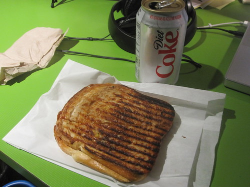 Gilled cheese and Diet Coke from pasta Café - $4.20