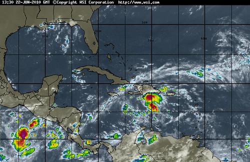 Tropical Depression #1 - 2010