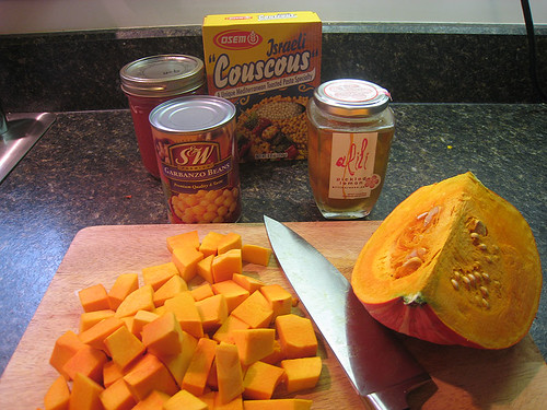 Winter Squash and Chickpea Stew