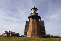 Block Island Southeast Lighthouse (ChrisGoldNY) Tags: ri november autumn sky architecture lighthouses day forsale bricks rhodeisland albumcover bookcover blockisland newshoreham chrisgoldny chrisgoldberg chrisgold chrisgoldphotos