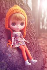 Eugénie ♥ le soleil d'automne.