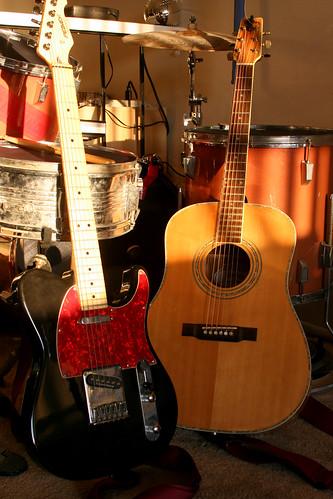 main recording guitars