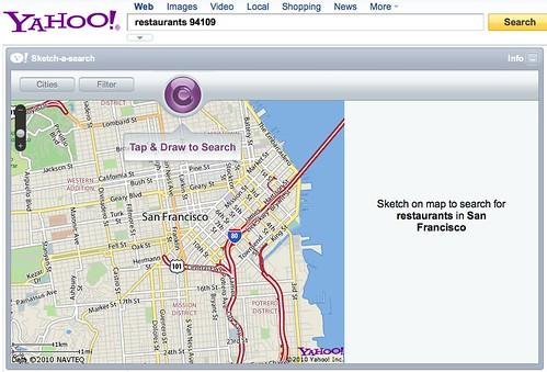 Aplicación Sketch-A-Search de Yahoo