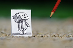 Pencil Vs Camera - 38 (Ben Heine) Tags: park light brussels wallpaper blur game macro cute art love nature pencil pape