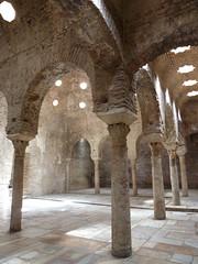 Granada: Banos Arabes (Nigel Turner) Tags: spain andalucia moorish granada islamicarchitecture albaicin moorisharchitecture arabbaths islamicarch islamicspain islamicarches banosarabes moorisharch moorishspain islamicgranada moorishgranada