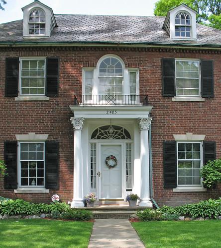 Things That Inspire: Palladian Windows Modern Palladian Architecture
