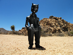 Black Bean Red Demon by Muttpop (Drew from the Slope) Tags: joshuatree urbanvinyl blackbeanreddemon