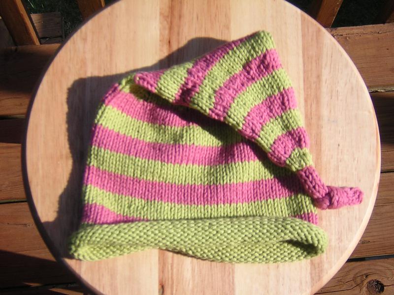 stripey whoville hat
