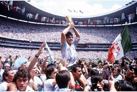 Resultado de imagen para argentina campeona del mundo 1986