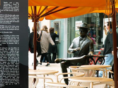 """Lisboa - Café """"A Brasileira do Chiado"""""""