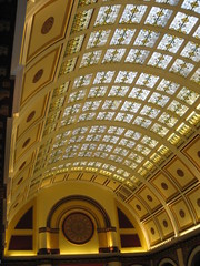 glass ceiling of union station hotel