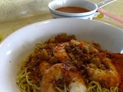 S$3 Dry Prawn Noodle