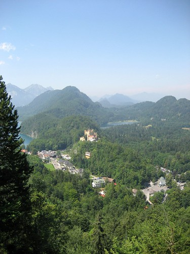 Hohenschwangau Castle and its surroundings