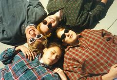 Aah, the 90s (laceygerard) Tags: sun me sunglasses allan george warm jasmine grunge highschool nostalgia flannel lacey plaid 90s oldiesbutgoodies brekkieclub