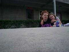 Vianne and Megan (majorbttrfly1965) Tags: us whoa