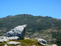 L'Alcudina (Incudine) depuis l'ancien observatoire