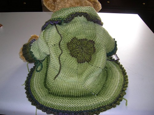 Back of Baby Pinwheel Jacket