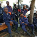 Police protection of displaced in Bulengo