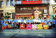 the group (CharlotteKinzie) Tags: chinatown chinese martialarts kungfu liondance liondancers hungfut eyedotting liondancings